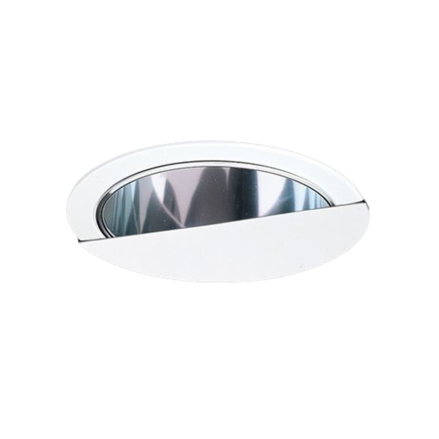 Nicor Lighting White Wall Wash Recessed Light Trim (Fits Housing Diameter: 6-in)