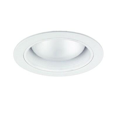 Nicor Lighting White Baffle Recessed Light Trim Fits
