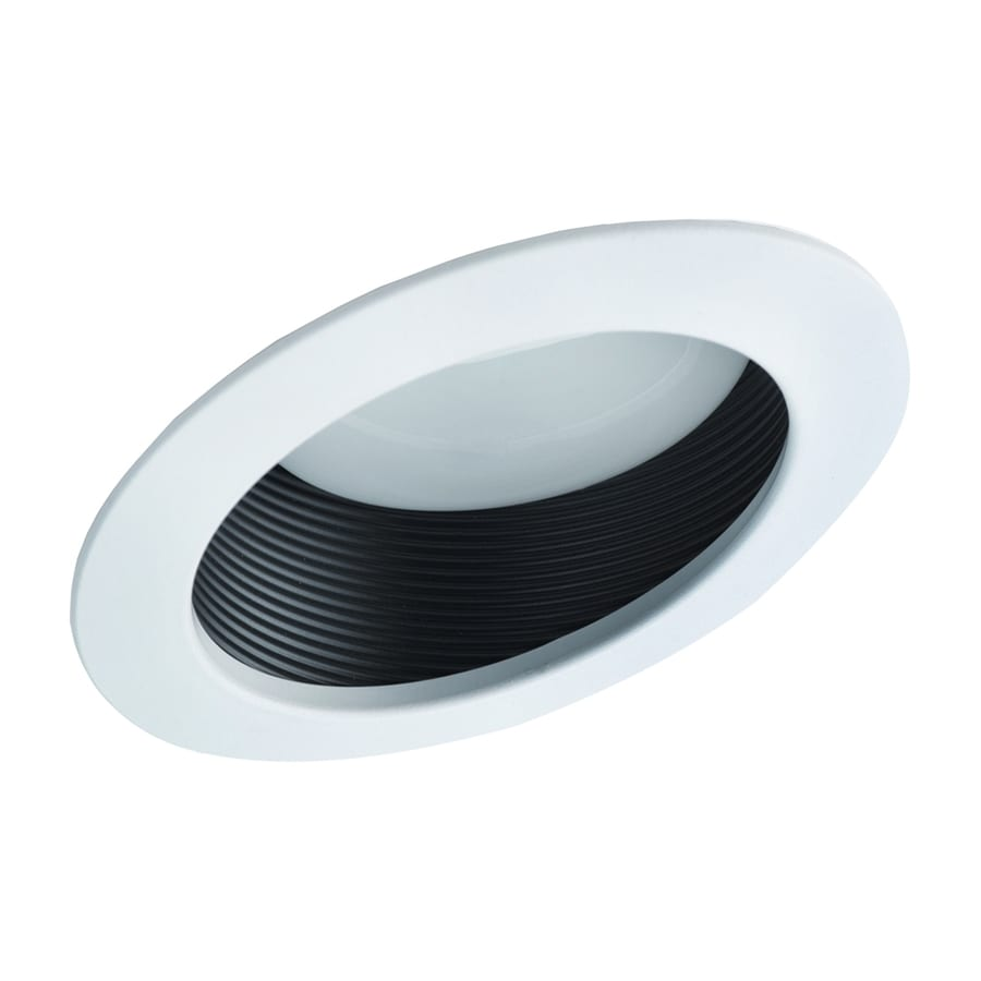 shop nicor lighting white baffle recessed light trim fits. Black Bedroom Furniture Sets. Home Design Ideas