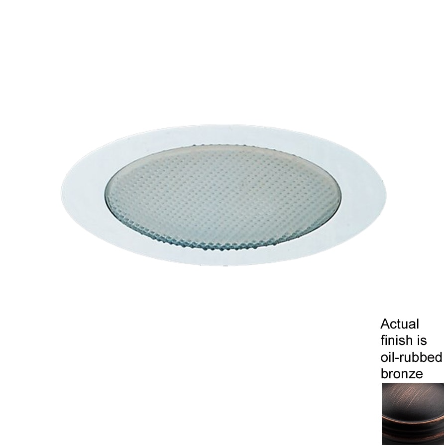 Recessed Lighting Housing For Shower : Nicor lighting oil rubbed bronze shower recessed