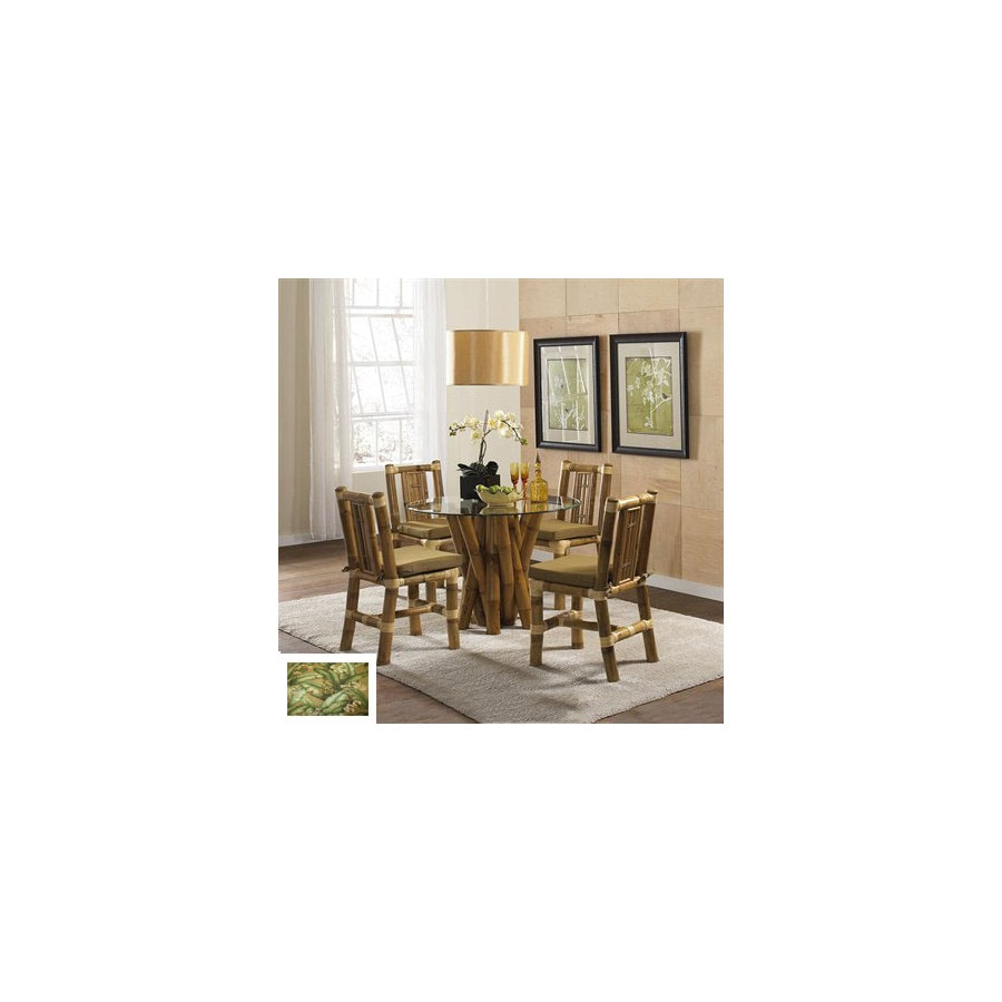 Hospitality Rattan Aloha Natural Dining Set