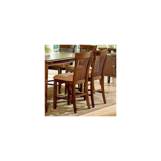 Steve Silver Company Set Of 2 Montreal Solid Ash Dining Chairs In The Dining Chairs Department At Lowes Com