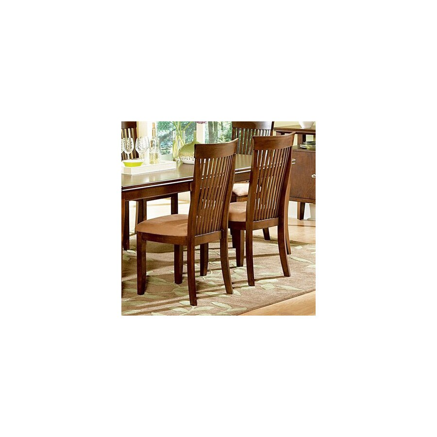 Steve Silver Company Set of 2 Montreal Solid Ash Dining Chairs  sc 1 st  Loweu0027s & Shop Steve Silver Company Set of 2 Montreal Solid Ash Dining Chairs ...