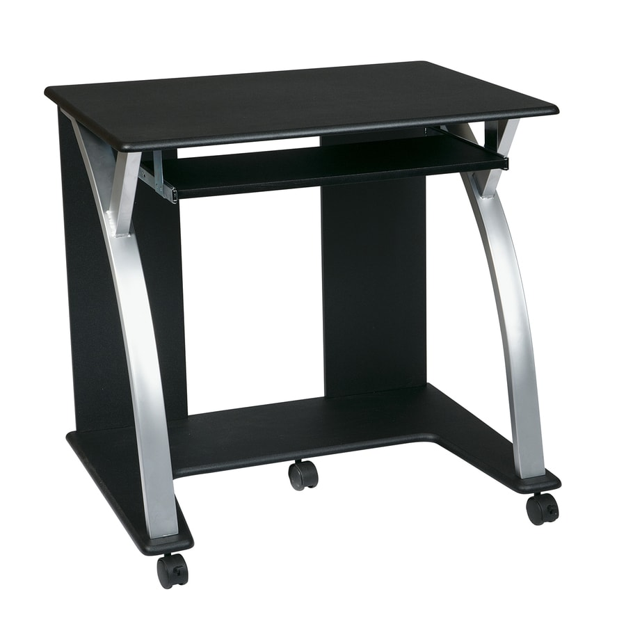Office Star Osp Designs Contemporary Black Computer Desk