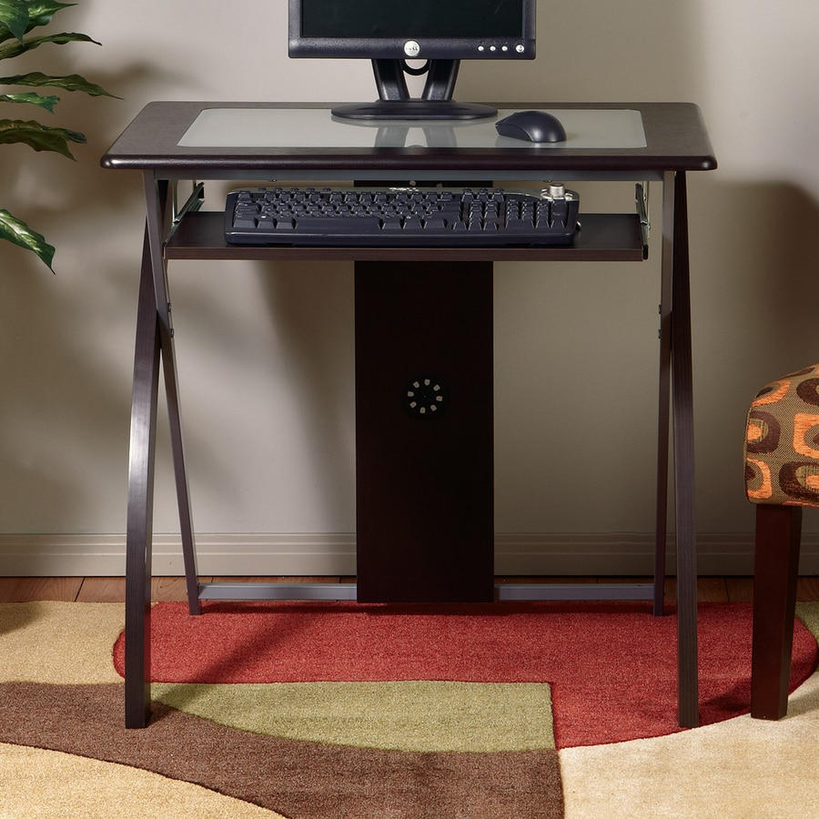 office star osp designs contemporary tempered glass computer desk