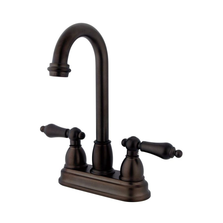 Elements of Design Chicago Oil-Rubbed bronze 2-Handle Kitchen Faucet