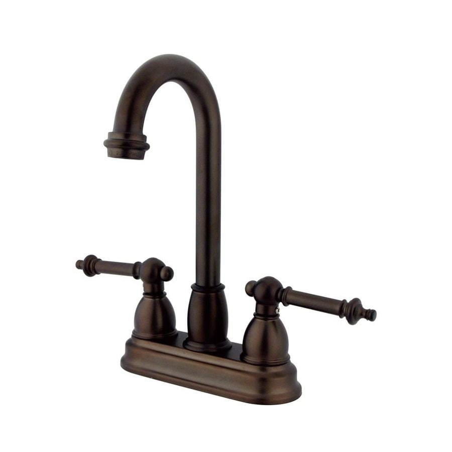 Elements of Design Chicago Oil-Rubbed Bronze 2-Templeton Handle Bar and Prep Faucet