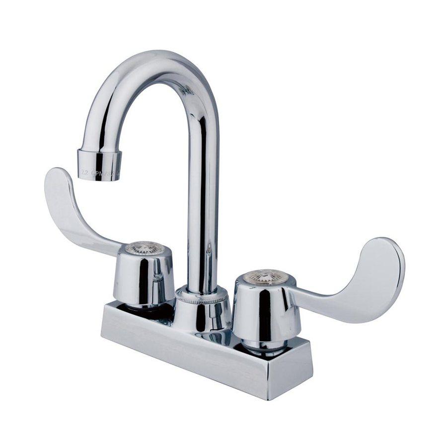 Elements of Design Vista Chrome 2-Handle Bar and Prep Faucet