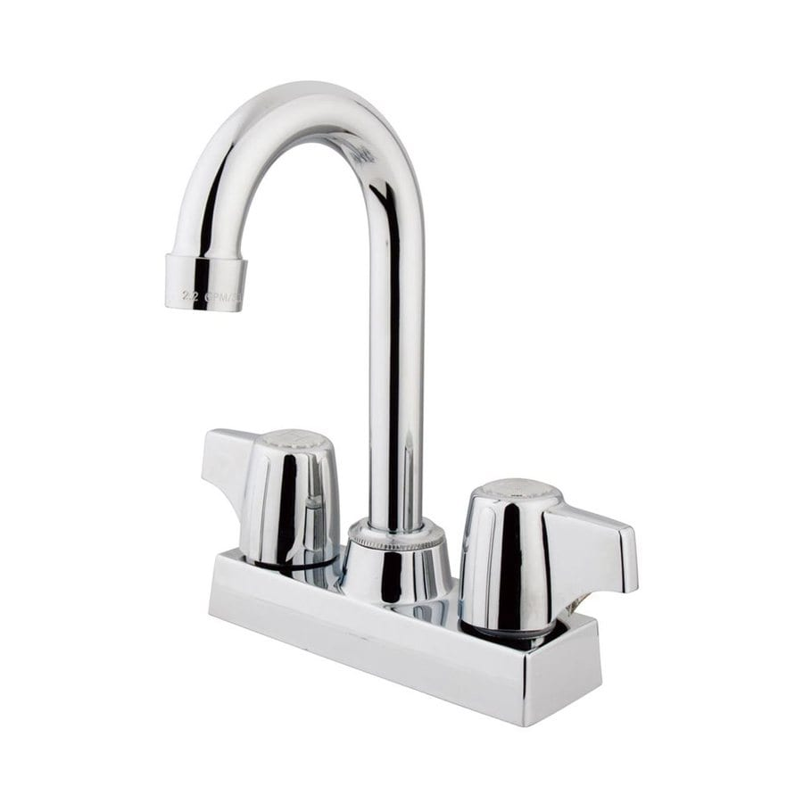 Elements of Design Franklin Chrome 2-Handle Bar and Prep Faucet