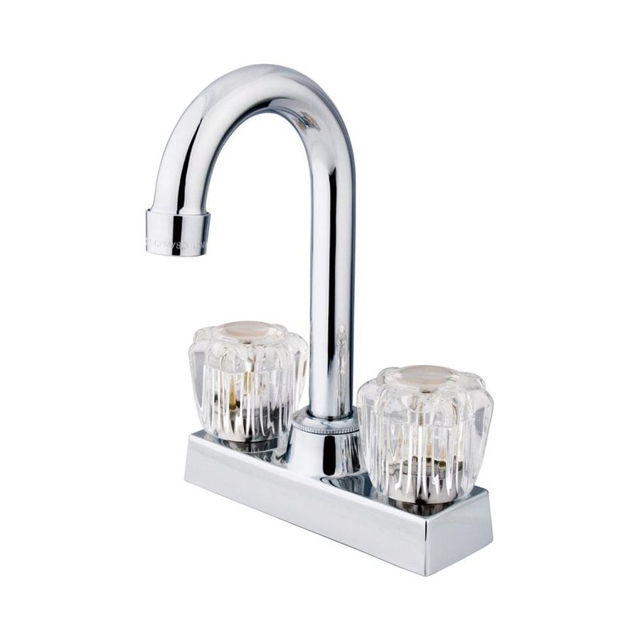 Elements of Design Supreme Chrome 2-Handle Bar and Prep Faucet
