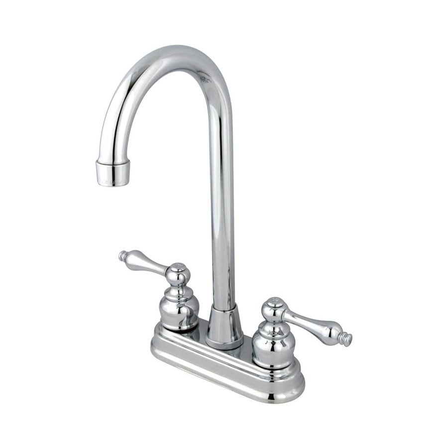 Elements of Design Magellan Chrome 2-Handle Bar and Prep Faucet