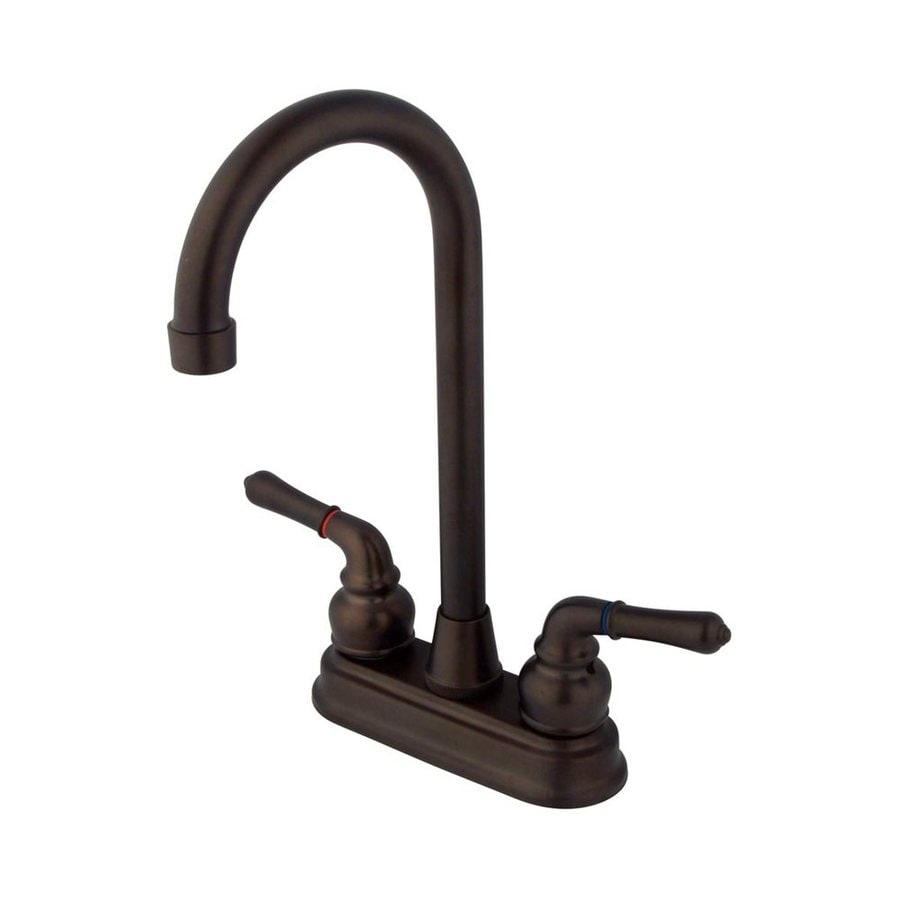 Elements of Design Magellan Oil-Rubbed Bronze 2-Handle Bar and Prep Faucet