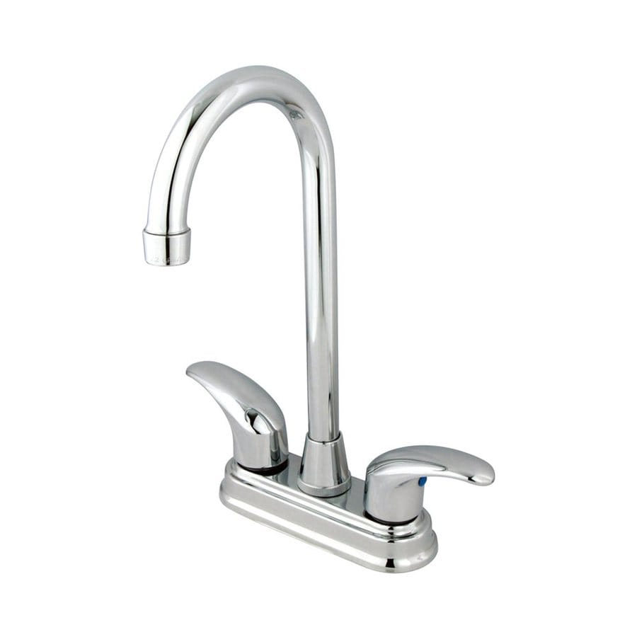 Elements of Design Daytona Chrome 2-Handle Bar and Prep Faucet