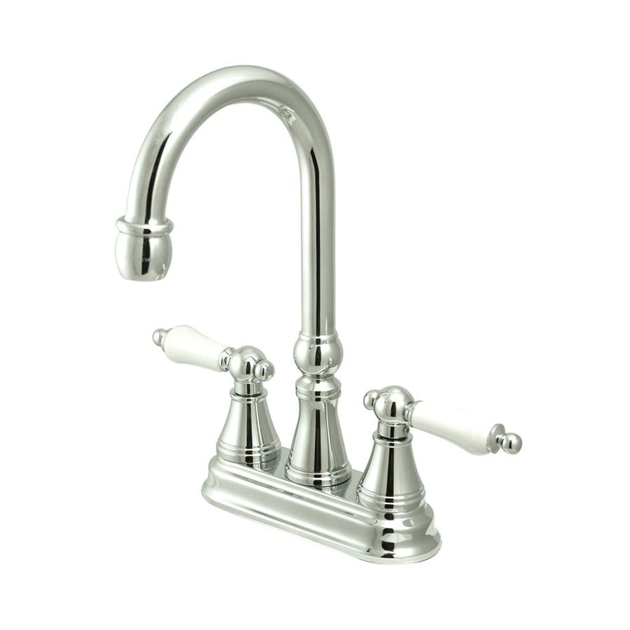 Elements of Design Chrome 2-Handle Bar and Prep Faucet