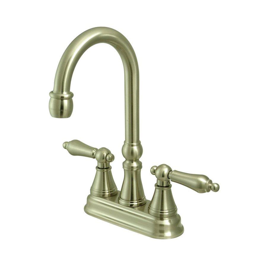 Elements of Design Satin Nickel 2-Handle Kitchen Faucet