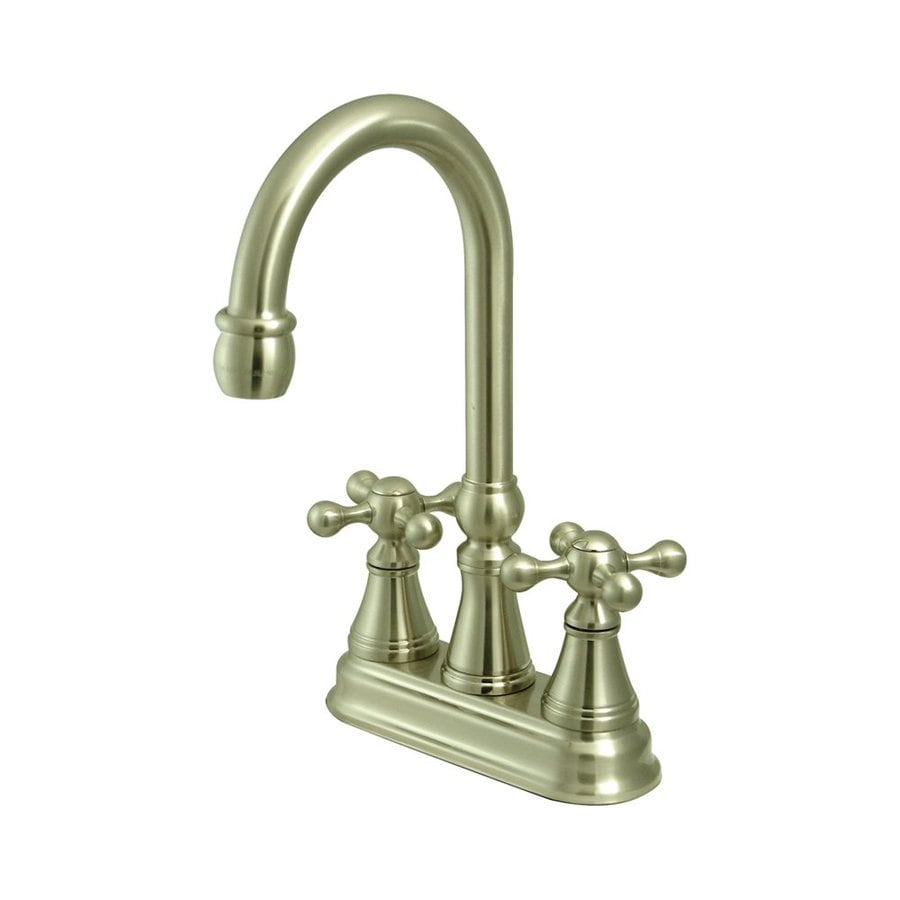 Elements of Design Satin Nickel 2-Handle Bar and Prep Faucet