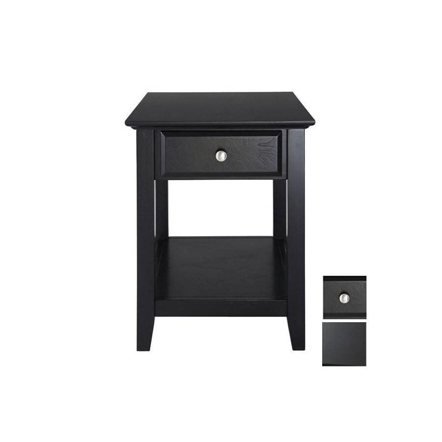 Shop Crosley Furniture Black Rectangular End Table at Lowescom