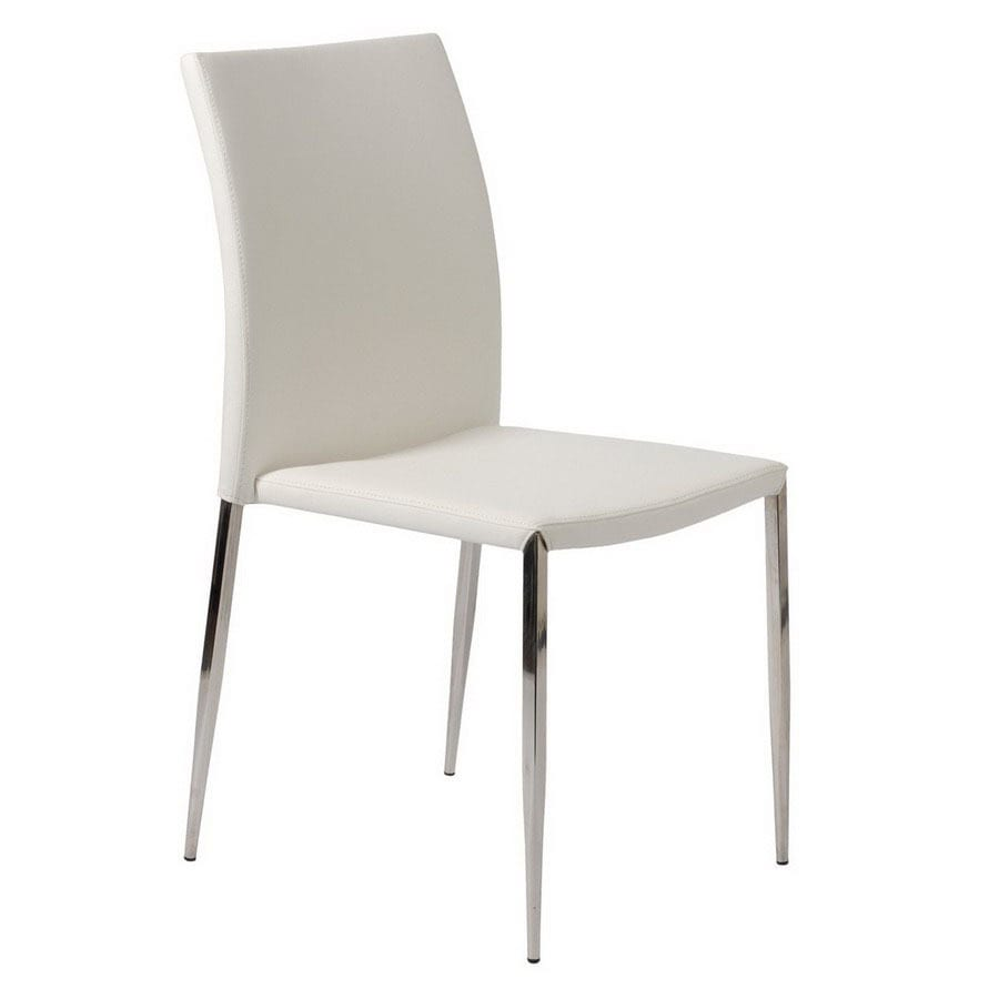 Exceptional Eurostyle Set Of 4 Diana Stainless Steel Dining Chairs