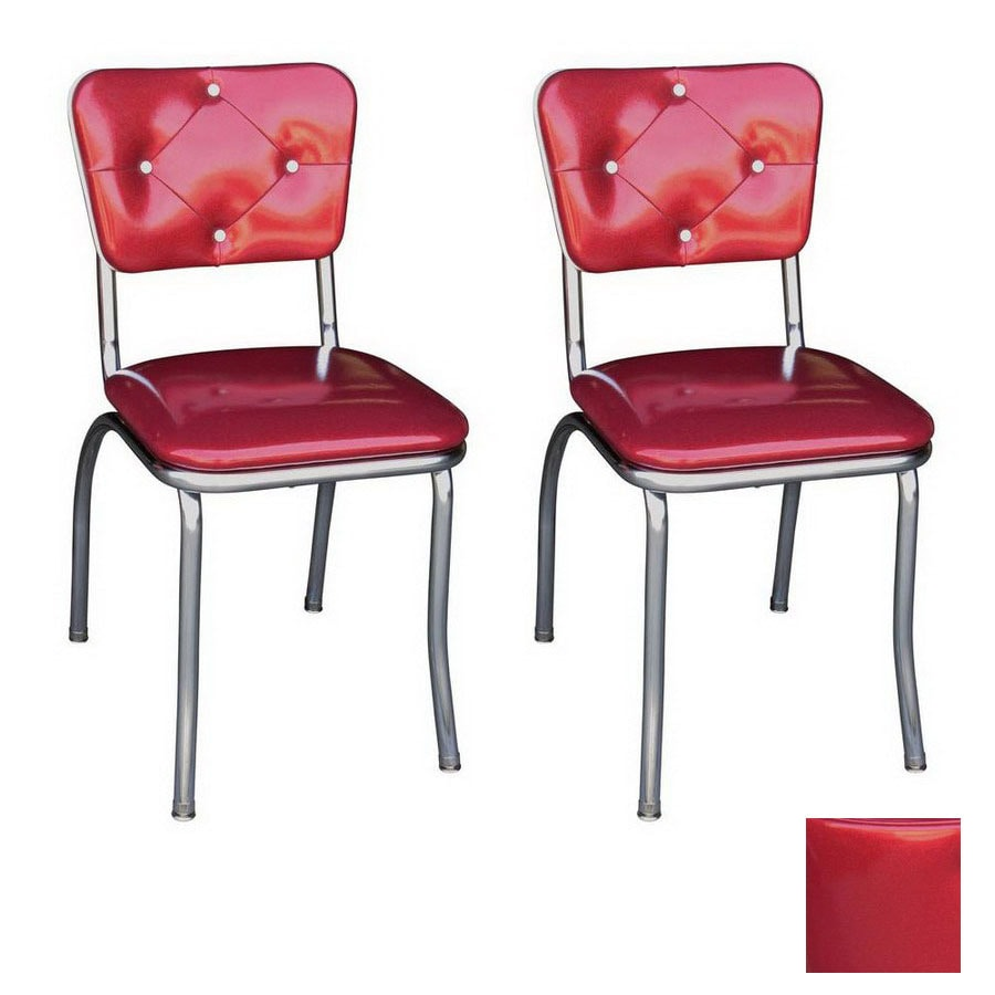 Superieur Richardson Seating 50u0027s Retro Chrome Stackable Dining Chair
