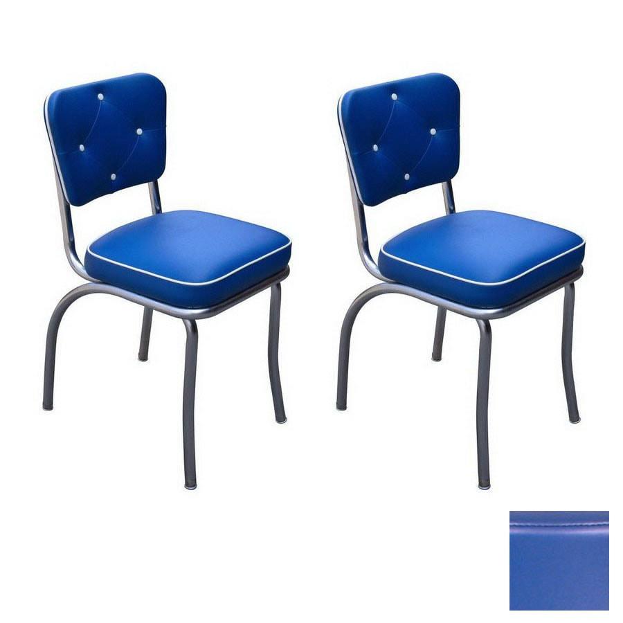 Richardson Seating 50s Retro Contemporary Royal Blue Side