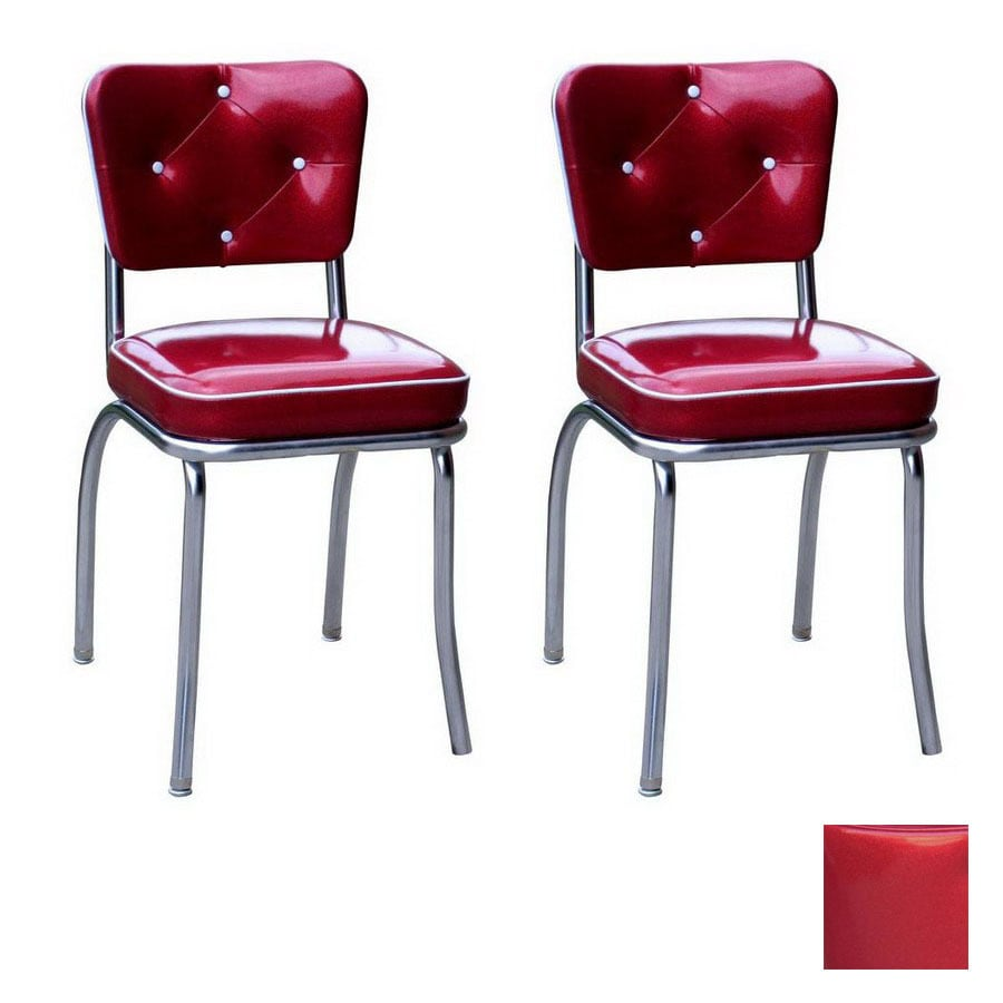 Richardson Seating 50s Retro Contemporary Zodiac Burgundy