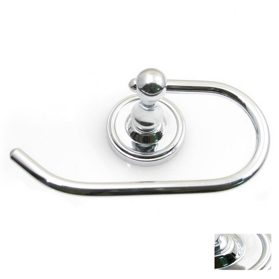 Rusticware Midtowne Chrome Surface Mount Toilet Paper Holder