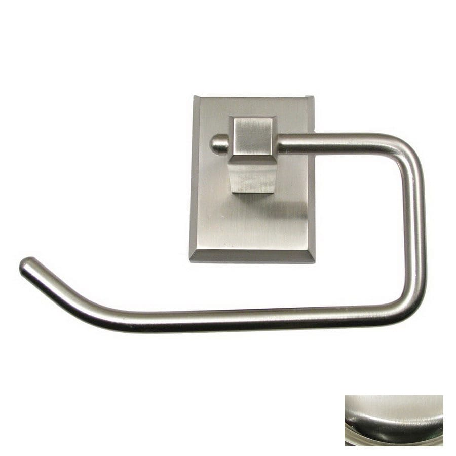 Rusticware Utica Satin Nickel Surface Mount Toilet Paper Holder