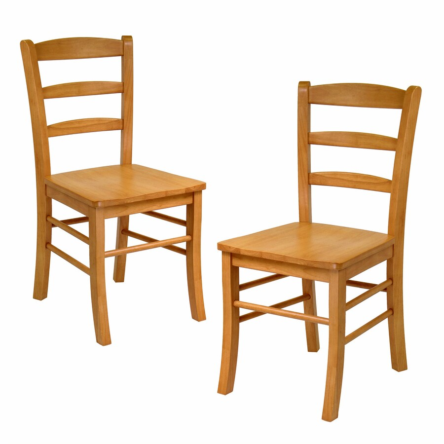 Winsome Wood Set Of 2 Hannah Mission Shaker Side Chairs