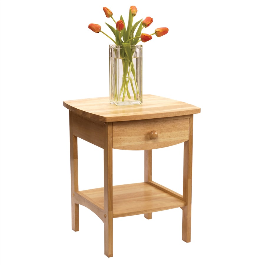 Winsome Wood Beech Square End Table