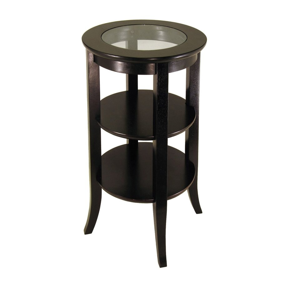 Winsome Wood Genoa Dark Espresso End Table