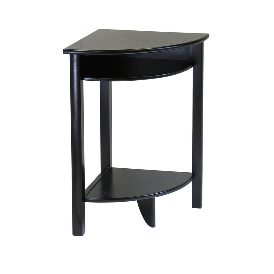 Winsome Wood Dark Espresso Corner End Table