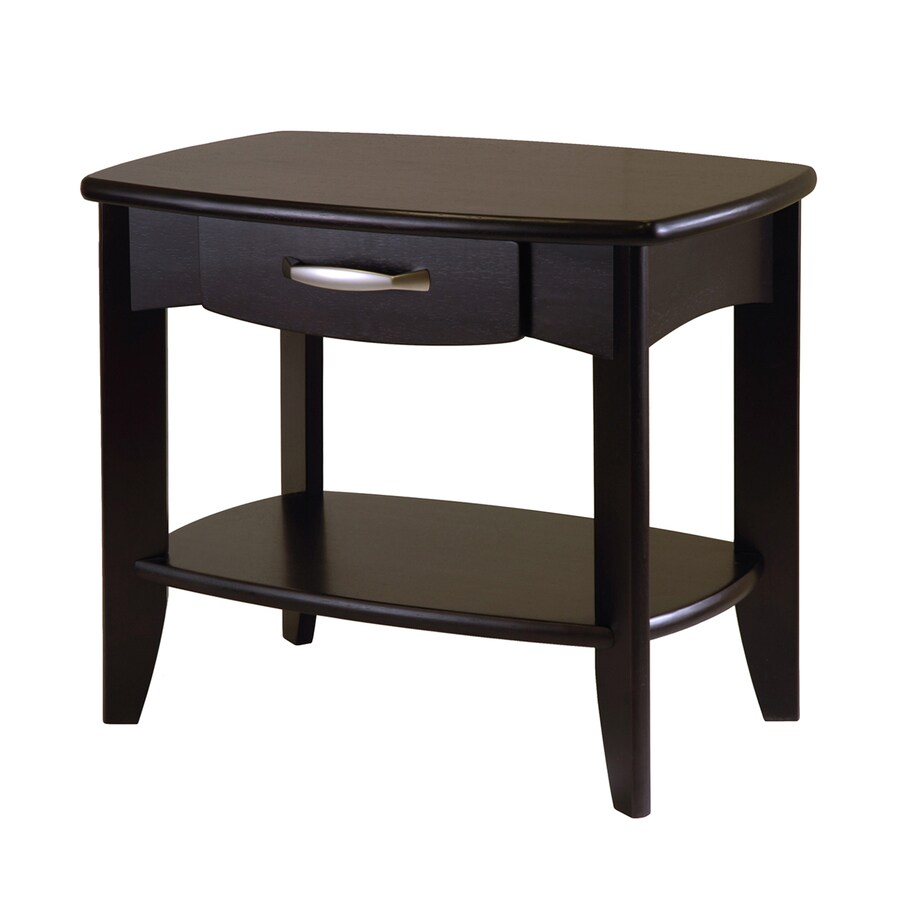 Winsome Wood Dark Espresso Rectangular End Table