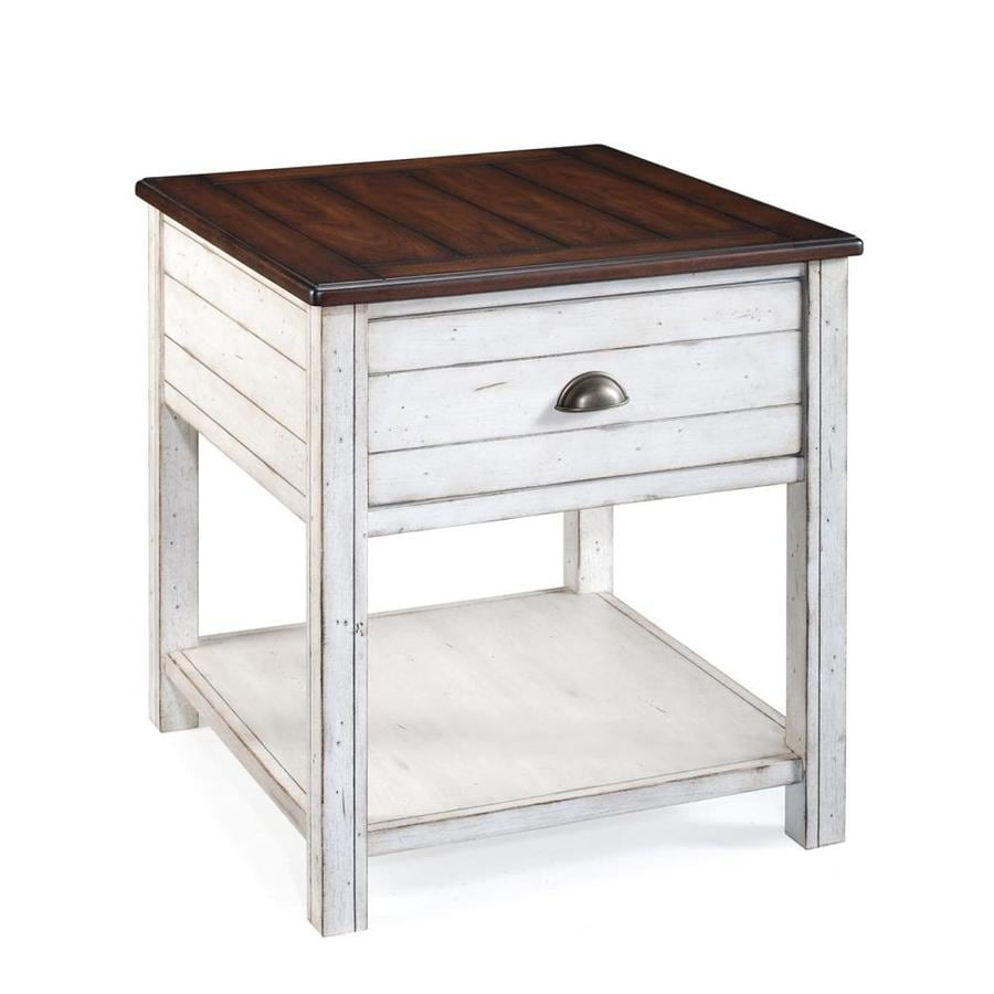 Magnussen Home Bellhaven Alabaster Cherry End Table