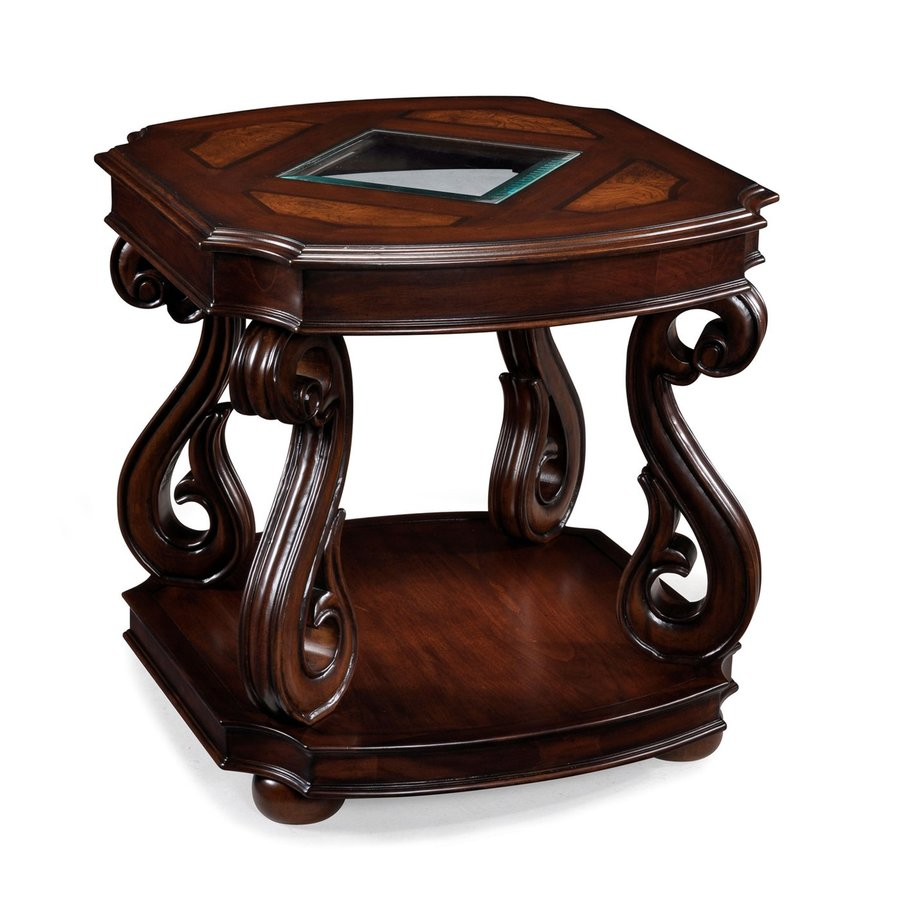 Magnussen Home Harcourt Cherry Cherry End Table