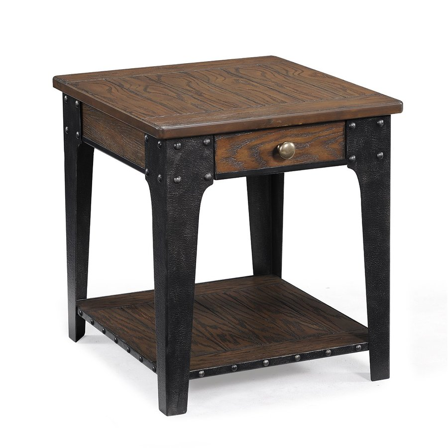 Magnussen Home Lakehurst Natural Rectangular End Table