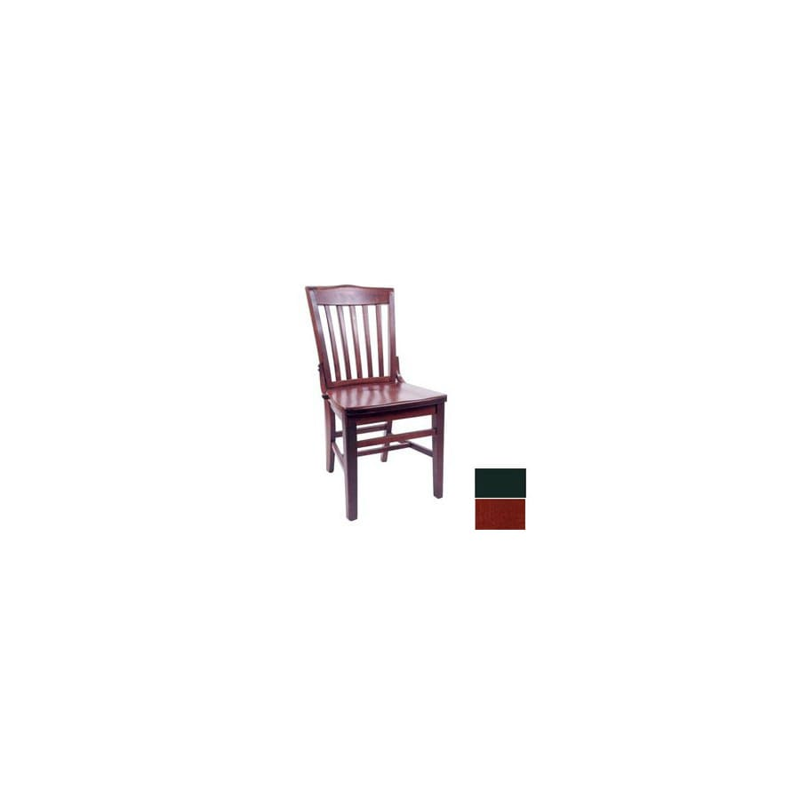 Alston Quality Industries Mahogany Side Chair
