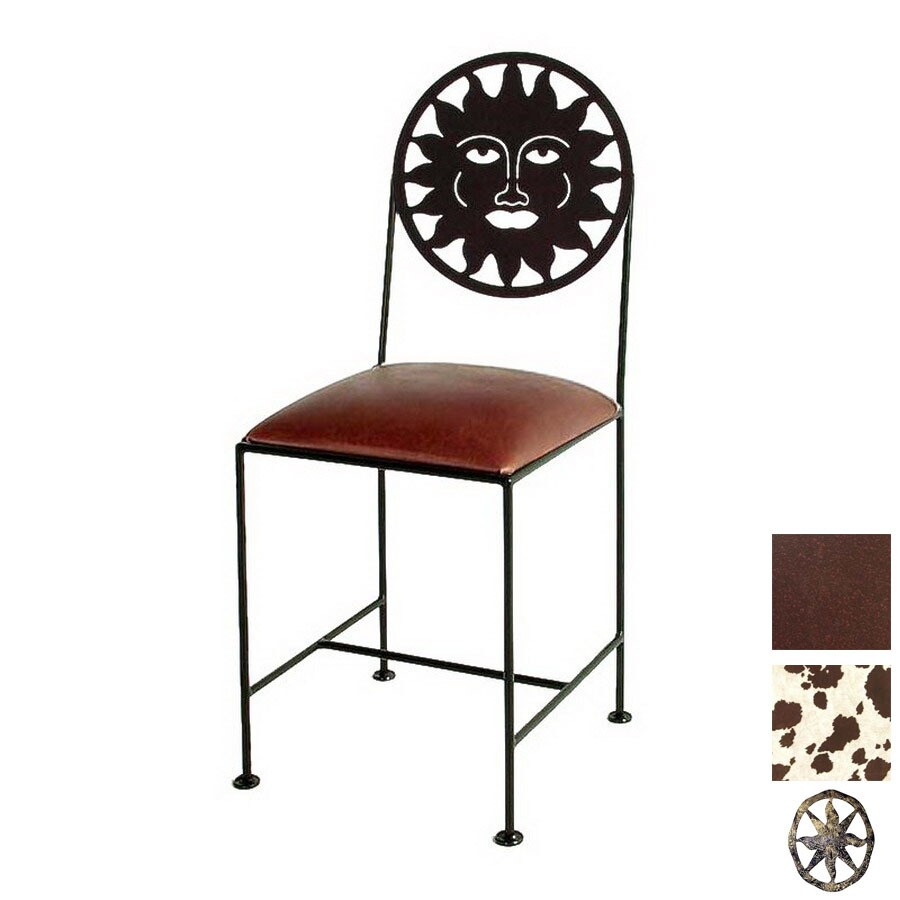 Grace Collection Silhouette Aged Iron Side Chair
