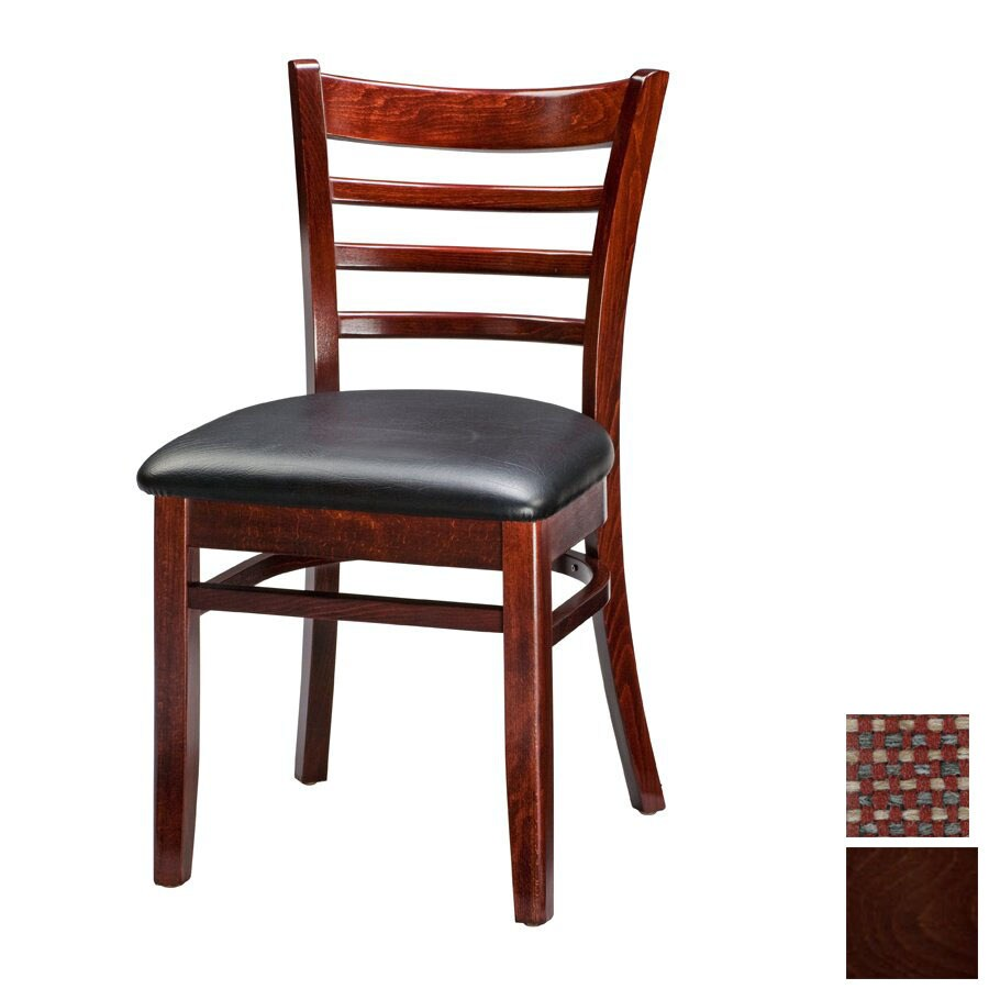 Regal Seating Set of 2 Dark Walnut Side Chairs