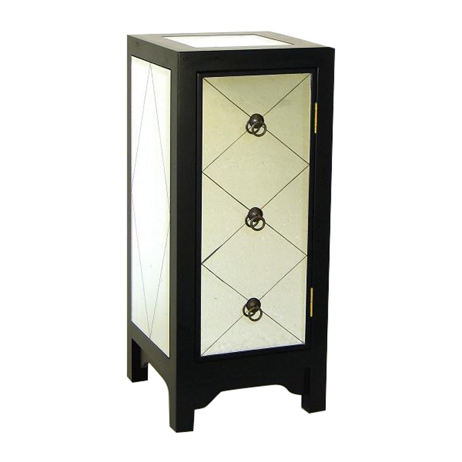 Wayborn Furniture Tanner Black Pine Square End Table