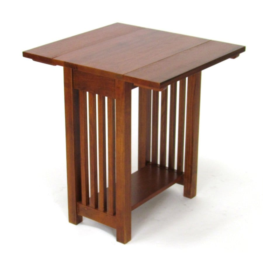 Wayborn Furniture Brown Birch End Table