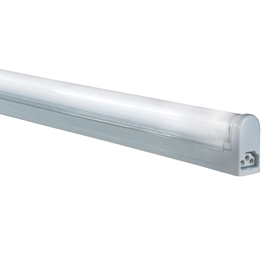 jesco sleek plus 17 5 in plug in under cabinet fluorescent light bar rh lowes com under cabinet fluorescent light fixture 18 white under cabinet fluorescent light fixture 18 white
