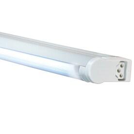 Shop fluorescent under cabinet lights at lowes jesco sleek plus plug in under cabinet fluorescent light bar aloadofball Gallery