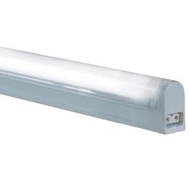 Shop fluorescent under cabinet lights at lowes jesco sleek plus 21 in plug in under cabinet fluorescent light bar aloadofball Gallery