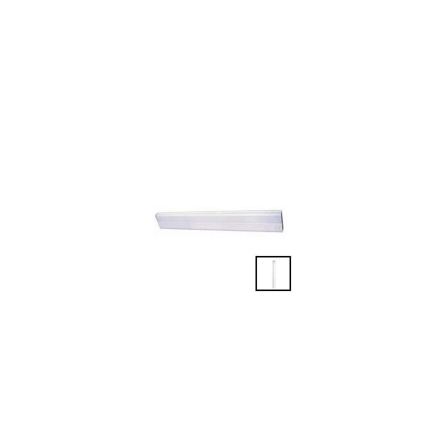 Volume International 36-in Hardwired Under Cabinet Fluorescent Light Bar