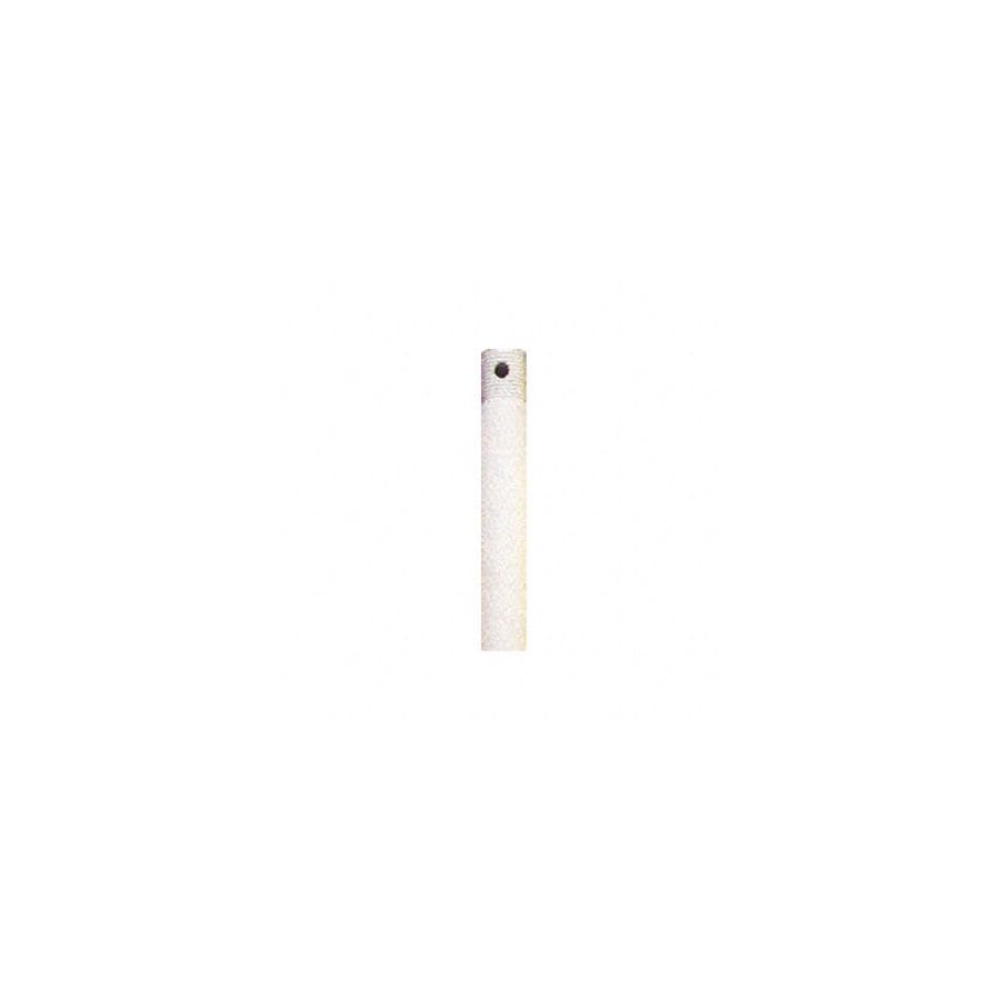 Nicor Lighting 12-in Textured White Ceiling Fan Downrod