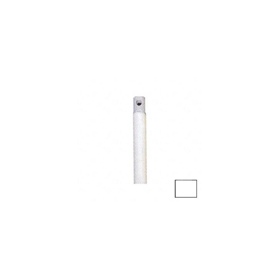 Nicor Lighting 48-in White Ceiling Fan Downrod