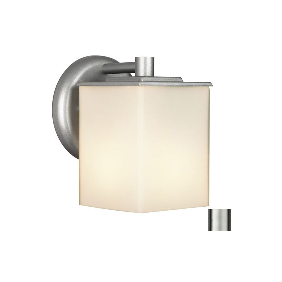 Philips Forecast 7-in H Vista Silver Outdoor Wall Light
