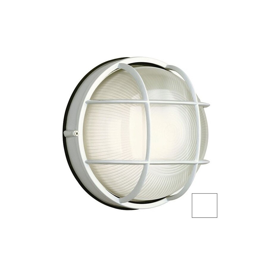 Philips Forecast Oceanview 10-in H White Outdoor Wall Light