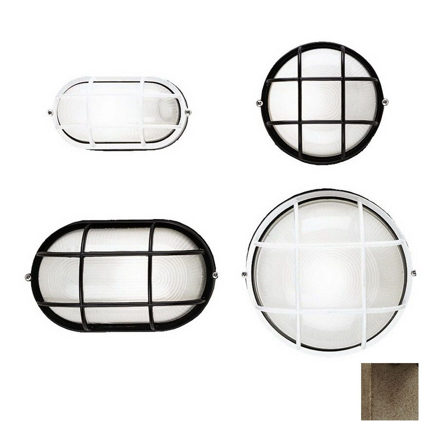 Philips Forecast Oceanview 8-in H Silver Rust Outdoor Wall Light