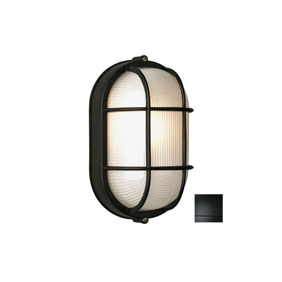Philips Forecast Oceanview 11-in H Black Outdoor Wall Light